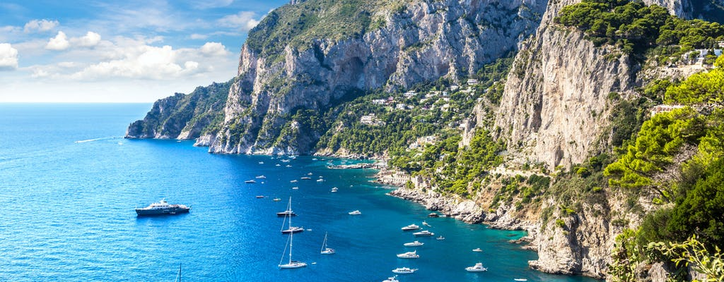 Gita di un giorno a Capri con pranzo