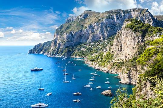 Excursion d'une journée à Capri avec déjeuner