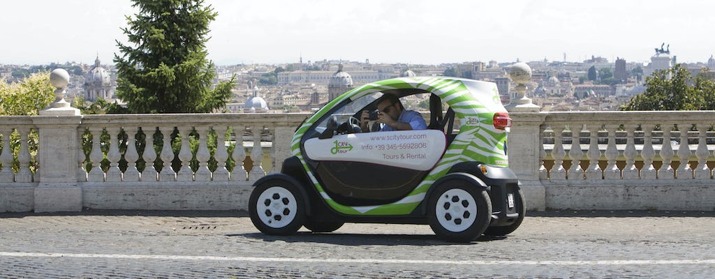 Electric car rental in Rome for 5 or 24 hours