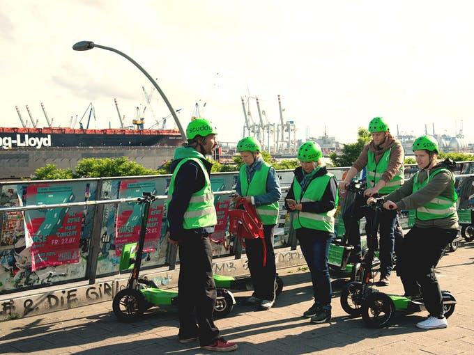 Ver la ciudad,Ver la ciudad,Visitas en segway,Tour por Hamburgo