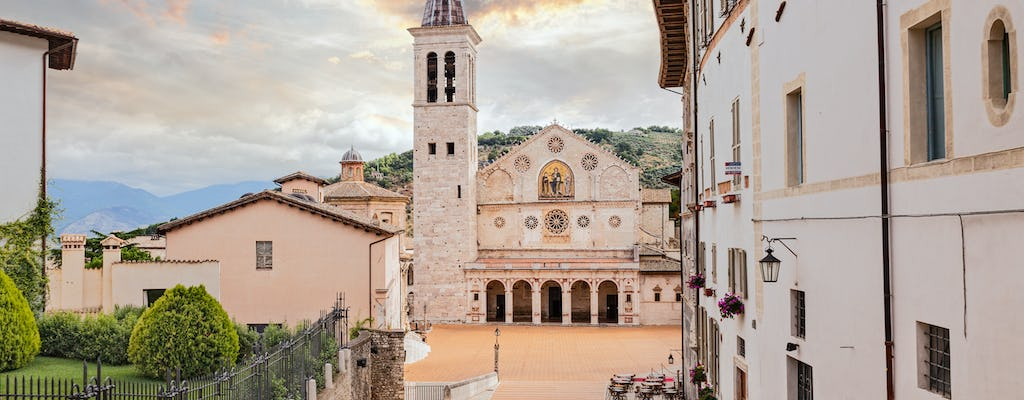 Tickets and audio guides for the Spoleto Cathedral monumental complex
