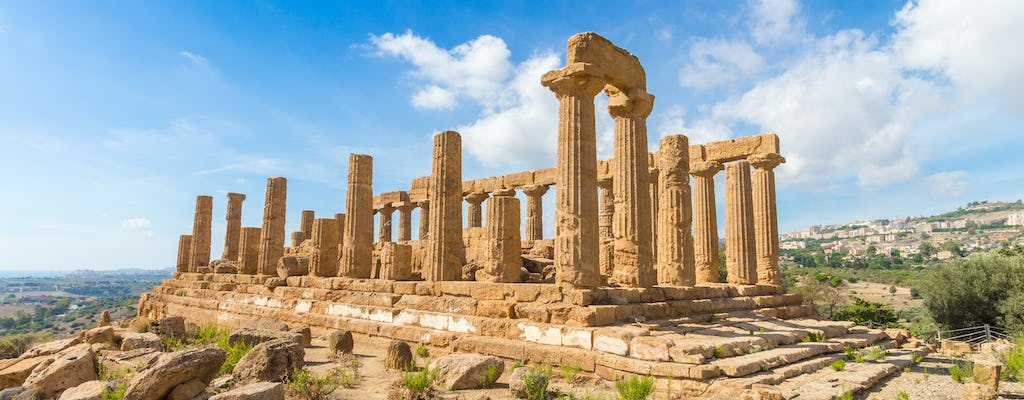 Full-day guided tour to Piazza Armerina and Agrigento from Palermo