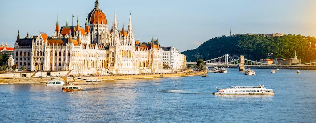 Tour du Parlement hongrois et croisière avec boisson