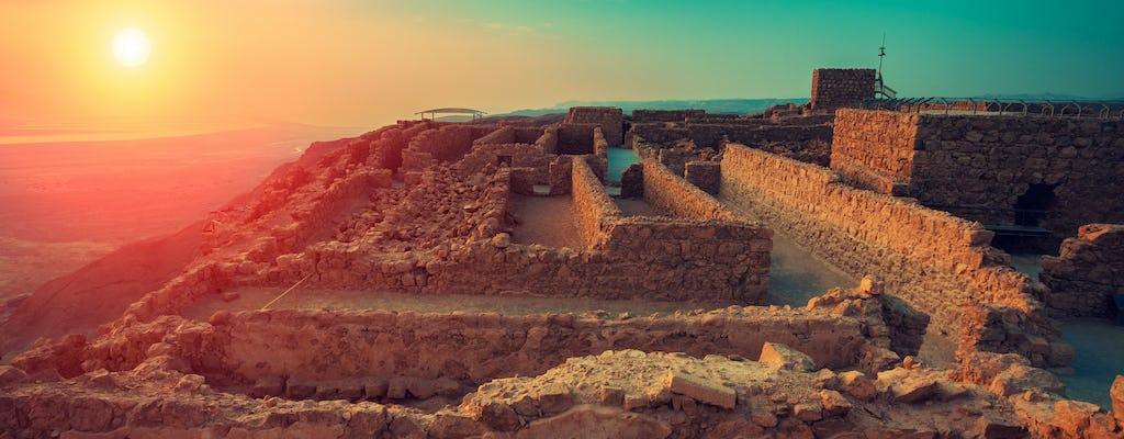Tour all'alba di Masada da Gerusalemme