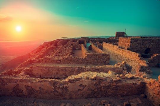 Masada sunrise tour from Jerusalem