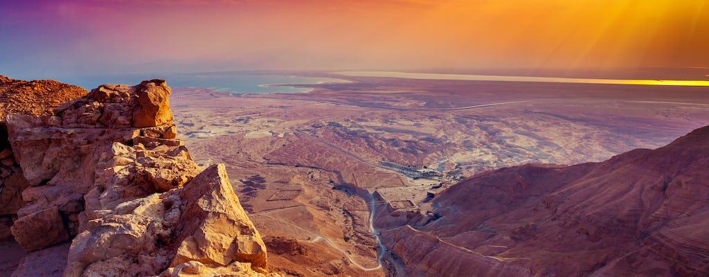 Masada sunrise tour from Tel Aviv