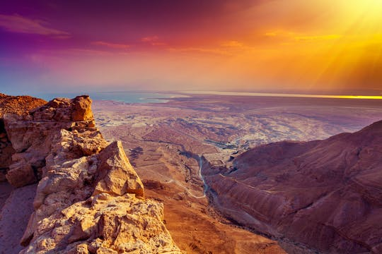 Masada sunrise tour from Tel Aviv