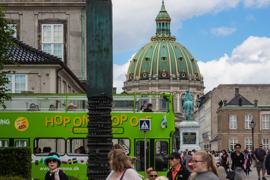 Hop-on hop-off Copenhagen tickets with bus and boat options