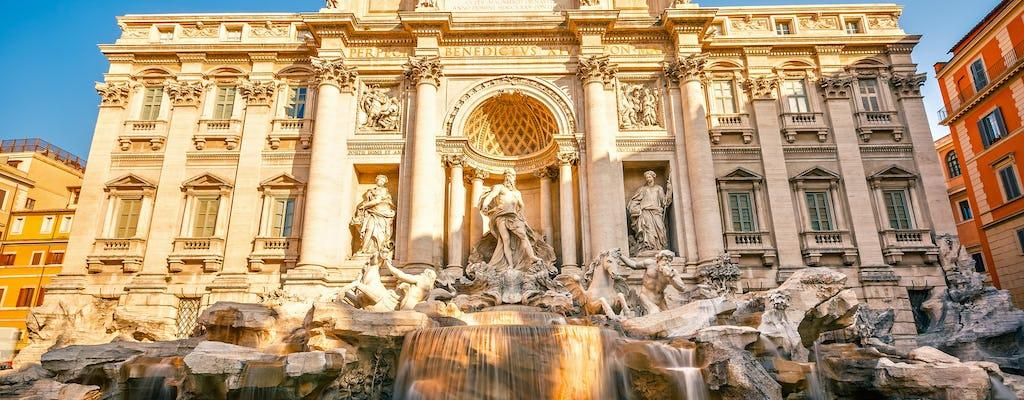 Visita guiada en grupo por las plazas y fuentes de Roma