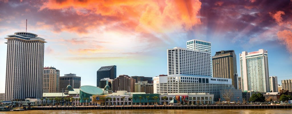 City of New Orleans jazz sightseeing cruise