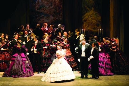 La Traviata: the Original Opera by Giuseppe Verdi with ballet