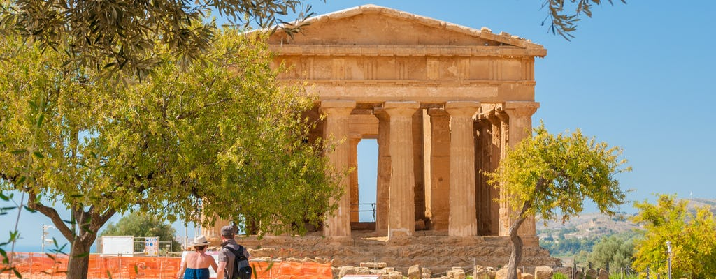 Tickets with audio guide for the Valley of the Temples in Agrigento