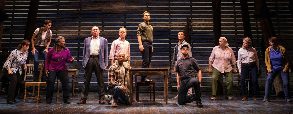 Tickets to Come From Away on Broadway