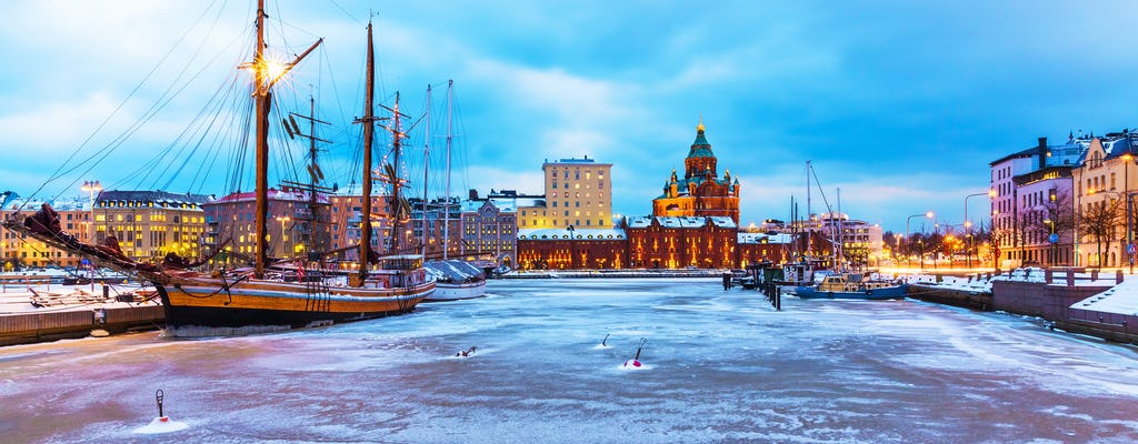 Shore Excursion: City sightseeing and Winterworld from Helsinki harbors