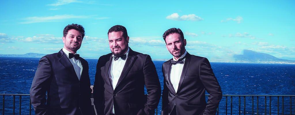 Opera Arias, Napoli e canzoni a Sorrento con i tre tenori
