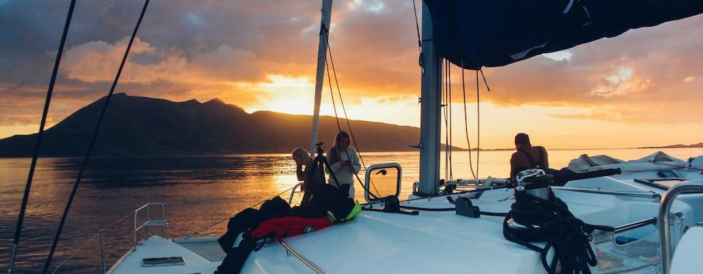 Expérience de navigation privée au soleil de minuit à Tromsø