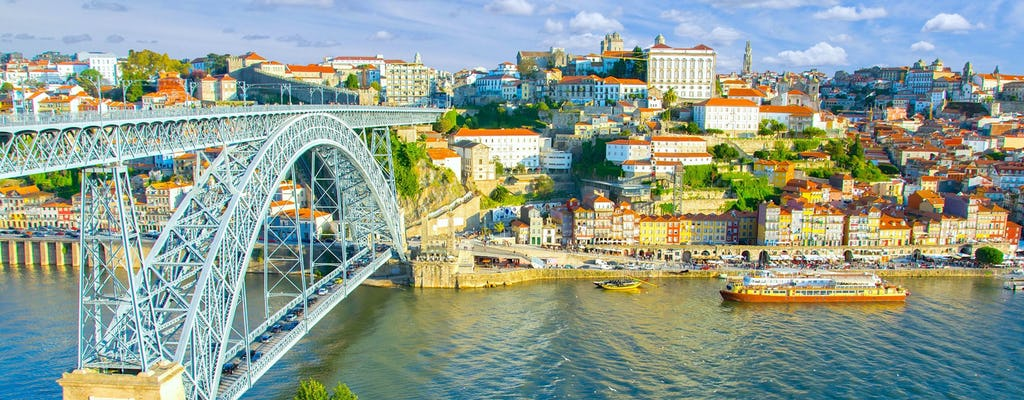Porto: Hop-On Hop-Off Bus, River Cruise, & Port Cellar Tour