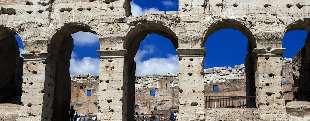 Vatican museums and Colosseum special gladiator's arena skip-the-line tickets