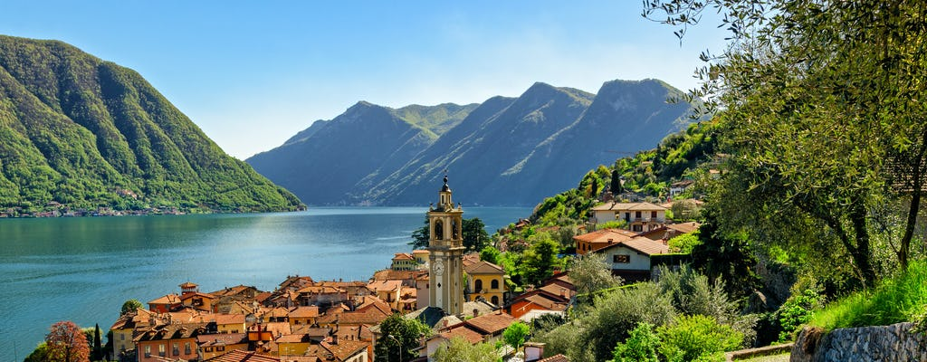 Classic tour of Lake Como with Bellagio and Varenna
