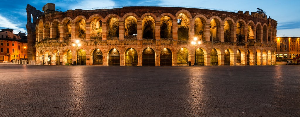 Verona in the moonlight guided walking tour
