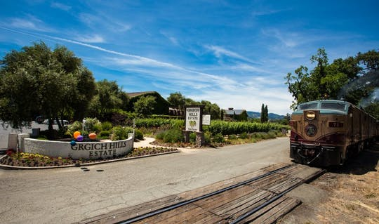 Napa Valley Wine Train en Grgich Hills wijnmakerij tour met gastronomische lunch