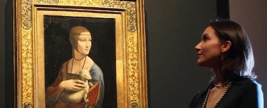 """Biglietto d'ingresso """"Lady with an Ermine"""" di Leonardo da Vinci"""
