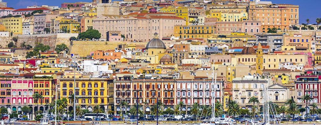 Tour privato di Cagliari con una guida locale