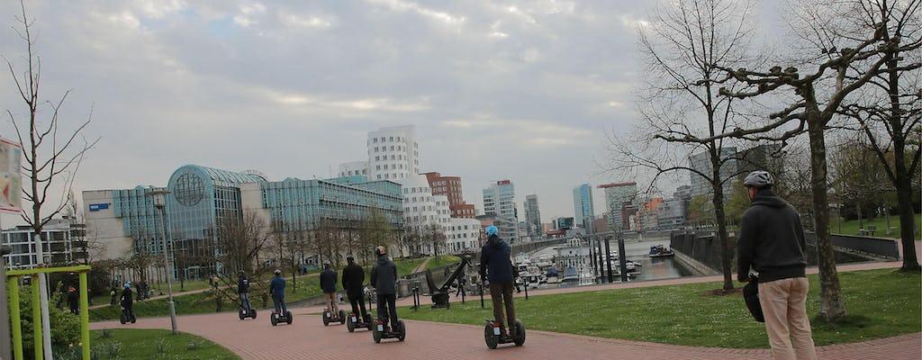 Düsseldorf: City and Rhine tour XXL on Segway