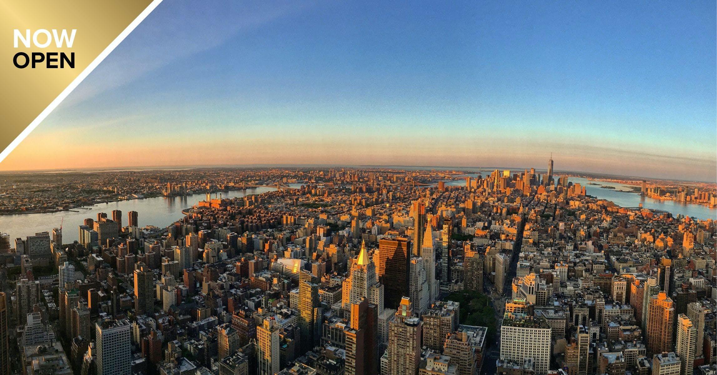 Bilhetes standard ou bilhetes sem fila para o Empire State Building Observatory
