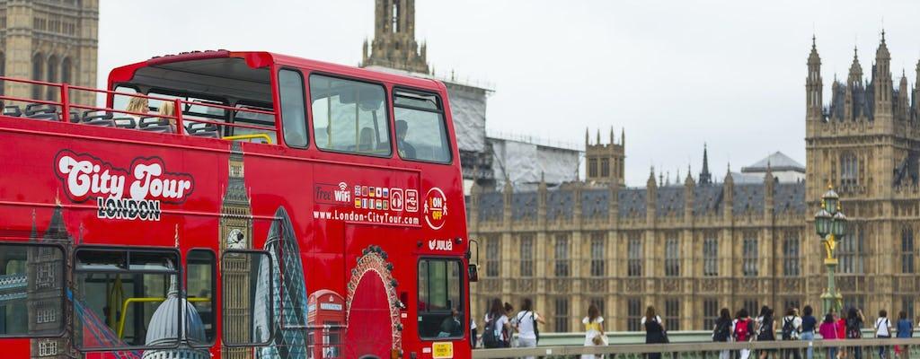 Лондон-сити тур хоп-он хоп-офф автобус