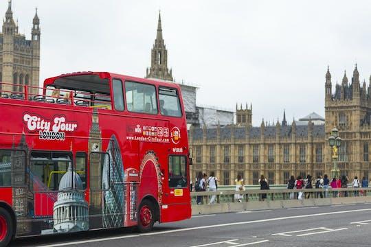 Tour della città di Londra in autobus hop-on hop-off