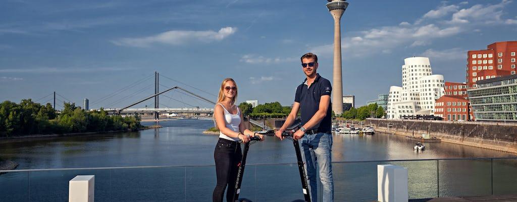 Düsseldorf: Rhine tour on Self-balancing scooter