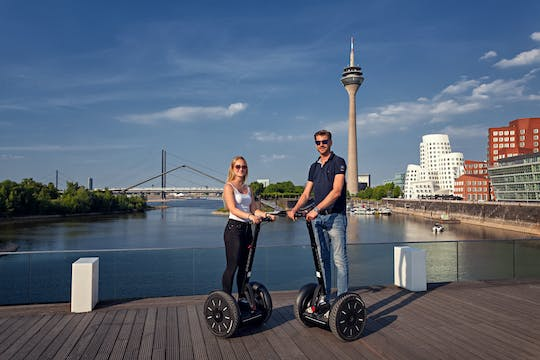 Düsseldorf: Rhine tour on Self-balancing scooter