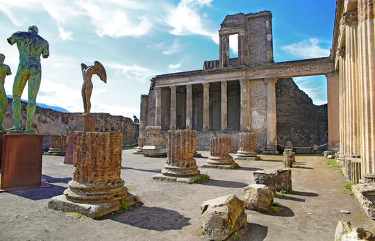 Rome-Pompei transfer with entrance tickets