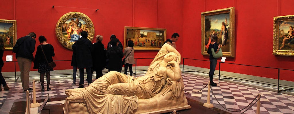 Heart of Florence and Uffizi Gallery guided tour