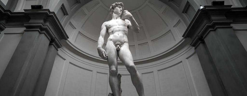 Passeio turístico por Florença com a Galeria Accademia, Catedral opcional e almoço