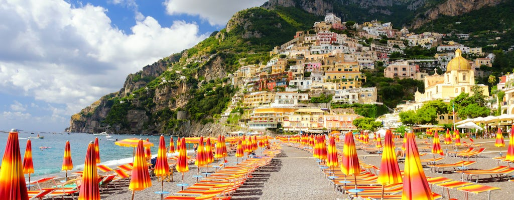 Amalfi Coast private boat excursion from Positano