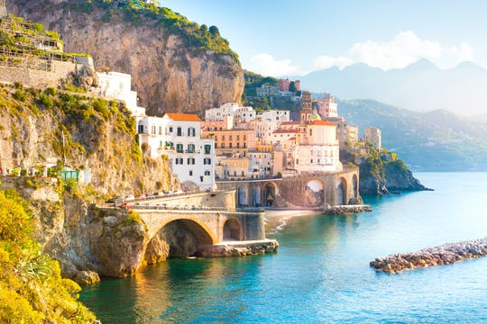 Discover Amalfi Coast on a private boat excursion from Amalfi