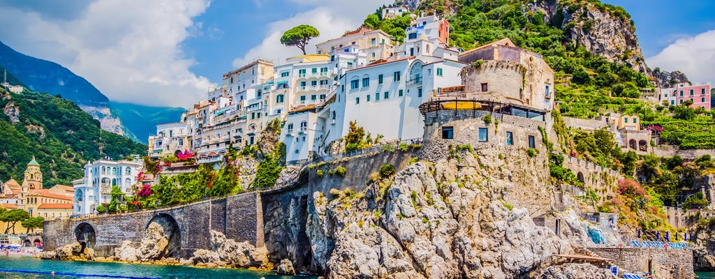 Excursión privada en barco por la costa de Amalfi desde Sorrento
