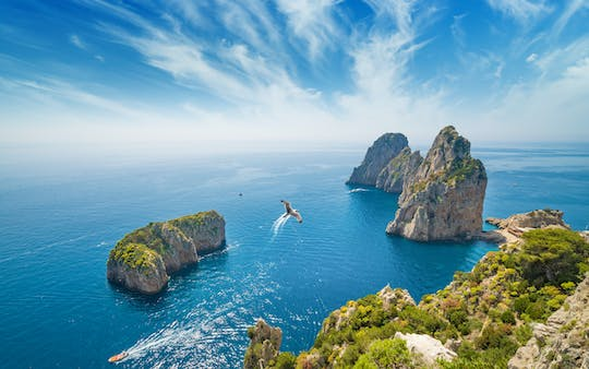 Discover Capri on a private boat excursion from Sorrento