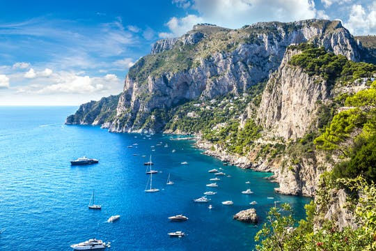 Capri 6-hour private boat excursion from Amalfi