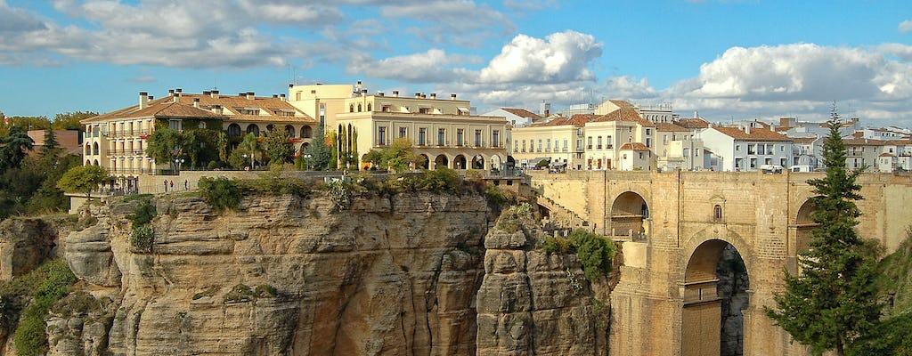 Tour della cantina e della città di Ronda con tapas