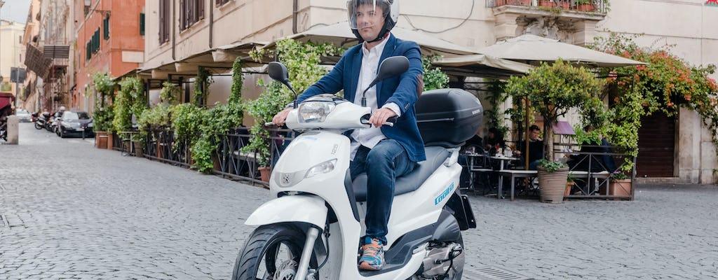 Rent a scooter 125cc and enjoy Milan