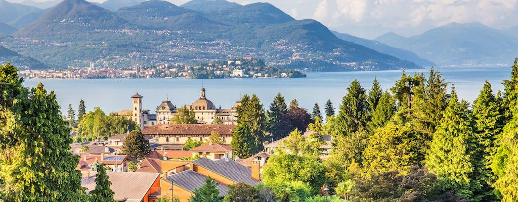 Lake Maggiore and Borromean Islands from Stresa