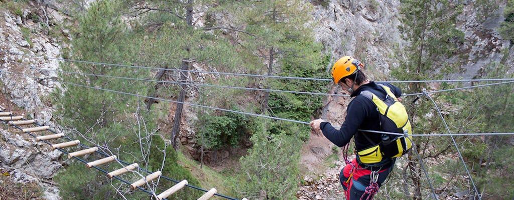 Via Ferrata experiencia de escalada