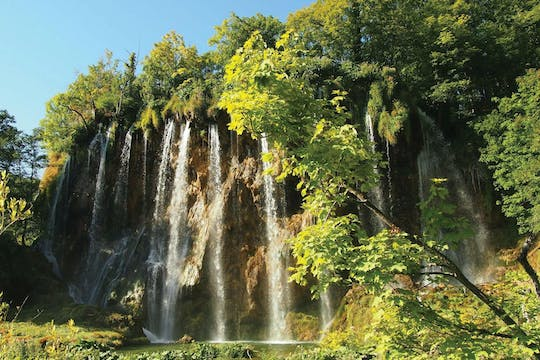 Plitvice Lakes guided tour from Zagreb