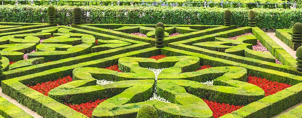 Entrada al castillo y los jardines de Villandry