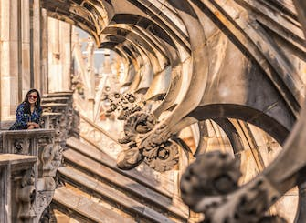Direct access to Milan Duomo Cathedral + Rooftop Guided Tour