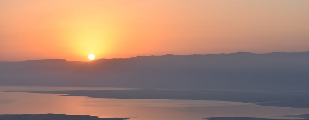 From Tel Aviv: Masada sunrise, Ein Gedi and Dead Sea tour
