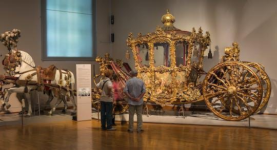 Bilhete para o Wagenburg - o Museu da Carruagem Imperial no Palácio de Schönbrunn